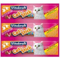 Vitakiraft Baton Pisica Mini cu Curcan si Miel, 3 buc