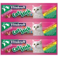 Vitakiraft Baton Pisica Mini cu Iepure si Rata, 3 buc